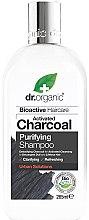 Voňavky, Parfémy, kozmetika Šampón na vlasy s aktívnym uhlím - Dr. Organic Bioactive Haircare Activated Charcoal Purifying Shampoo