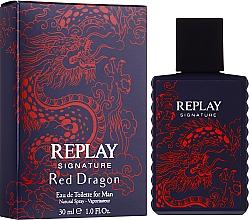 Voňavky, Parfémy, kozmetika Signature Replay Signature Red Dragon - Toaletná voda