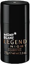Voňavky, Parfémy, kozmetika Montblanc Legend Night Stick - Deodorant