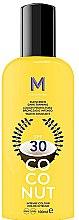 Voňavky, Parfémy, kozmetika Krém pre tmavé opálenie s ochranou proti slnku - Mediterraneo Sun Coconut Sunscreen Dark Tanning SPF30