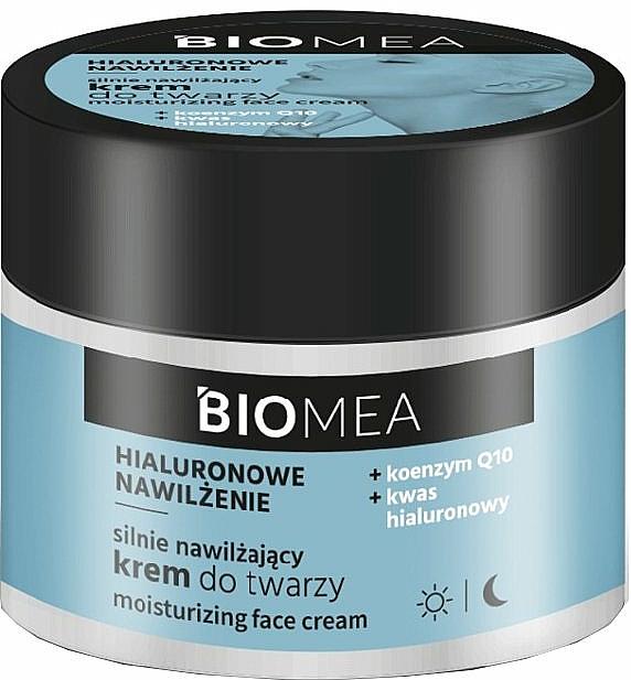 Hydratačný denný a nočný pleťový krém s koenzýmom Q10 - Farmona Biomea Moisturizing Face Cream