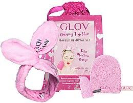 Voňavky, Parfémy, kozmetika Sada - Glov Spa Bunny Together Set (glove/1 + mini/glove/1 + headband/1 + bag/1)
