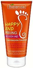 Voňavky, Parfémy, kozmetika Peeling na nohy a päty prírodným pemzou - Bielenda Happy End Peeling Feet And Heels With A Pumice Stone Natural