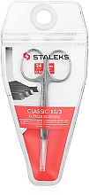 Voňavky, Parfémy, kozmetika Nožnice na nechtovú kožičku, 24 mm, SC-10/3 - Staleks Classic 10 Type 3