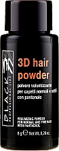 Voňavky, Parfémy, kozmetika Objemový prášok na vlasy - Black Professional Line 3D Hair Powder