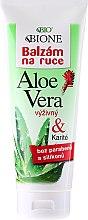 Voňavky, Parfémy, kozmetika Balzam na ruky hydratačný - Bione Cosmetics Aloe Vera Nourishing Hand Ointment With Collagen