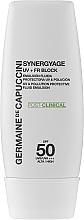 Voňavky, Parfémy, kozmetika Emulzia s vysokou ochranou - Germaine de Capuccini Synergyage UV+FR Block Emulsion SPF50