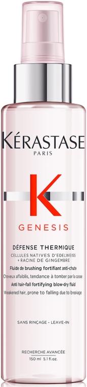 Sprejový fluid na spevnenie vlasov náchylných k vypadávaniu s tepelnou ochranou - Kerastase Genesis Anti Hair-Fall Fortifying Blow-dry Fluid
