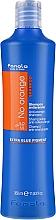 Voňavky, Parfémy, kozmetika Šampón pre farbené vlasy s tmavými odtieňmi - Fanola No Orange Extra Blue Pigment Shampoo