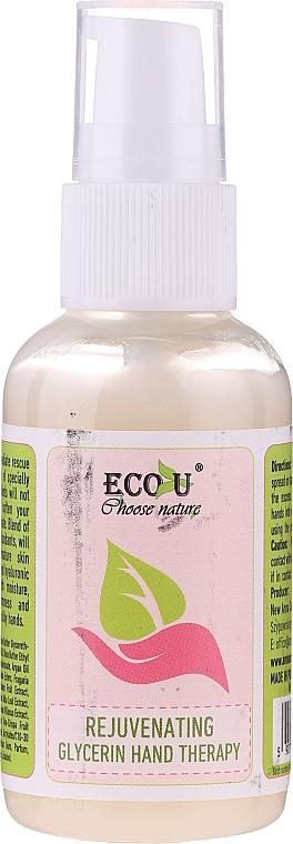 Omladzujúca kúra na ruky s glycerínom - Eco U