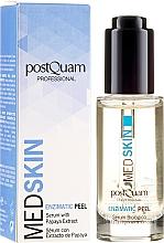 Voňavky, Parfémy, kozmetika Enzýmové sérum-peeling na tvár s extraktom z papáje - PostQuam Med Skin Enzimatic Peel Serum With Papaya Extract