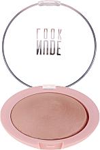 Voňavky, Parfémy, kozmetika Púder na tvár - Golden Rose Nude Look Sheer Baked Powder