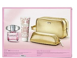 Voňavky, Parfémy, kozmetika Versace Bright Crystal - Sada (edt/90ml + b/l/100ml + bag + bag)