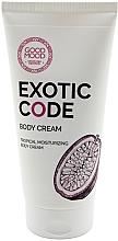 Voňavky, Parfémy, kozmetika Hydratačný telový krém pre suchú a normálnu pleť - Good Mood Exotic Code Body Cream