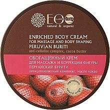 Voňavky, Parfémy, kozmetika Obohatený krém pre masáž na formovanie tela - ECO Laboratorie Natural & Organic
