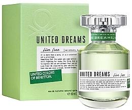 Voňavky, Parfémy, kozmetika Benetton United Dreams Live Free - Toaletná voda