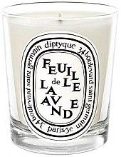 Voňavky, Parfémy, kozmetika Aromatická sviečka - Diptyque Feuille de Lavande Candle