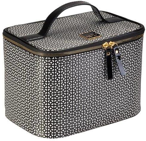 Kozmetická taška - Auri Simple Black & White Makeup Case