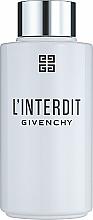 Voňavky, Parfémy, kozmetika Givenchy L'Interdit - Kúpeľový a sprchový olej