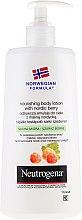 Voňavky, Parfémy, kozmetika Telové mlieko - Neutrogena Nourishing Body Lotion With Nordic Berry Normal To Dry Skin