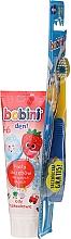 Voňavky, Parfémy, kozmetika Sada 1-6 rokov - Bobini (toothbrush + toothpaste/75ml)