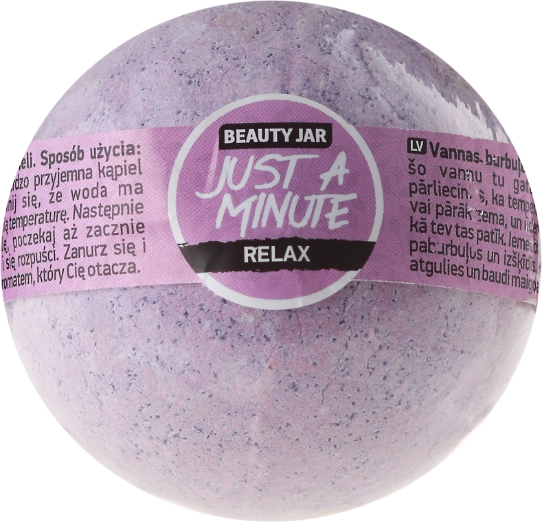 "Šumivá guľa do kúpeľa ""Chvíľku"" - Beauty Jar Just Minute"
