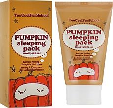 Voňavky, Parfémy, kozmetika Nočná maska s tekvicovym extraktom - Too Cool For School Pumpkin Sleeping Pack
