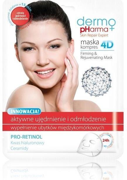 Maska na tvár - Dermo Pharma Skin Repair Expert Firming Rejuvenating Mask 4D