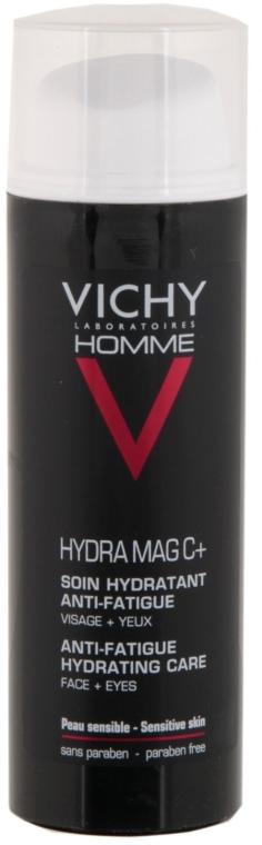 Hydratačný krém na tvár a očné viečka - Vichy Homme Hydra Mag C+ Anti-Fatigue Hydrating Care — Obrázky N2