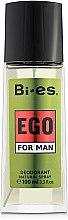 Voňavky, Parfémy, kozmetika Bi-Es Ego - Parfumovaný deodorant-sprej