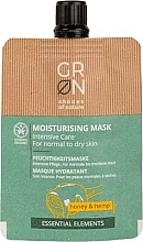 Voňavky, Parfémy, kozmetika Maska na tvár  - GRN Essential Elements Honey & Hemp Cream Mask