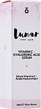 Voňavky, Parfémy, kozmetika Sérum na tvár s kyselinou hyalurónovou - Lunar Glow Vitamin C Hyaluronic Acid Serum