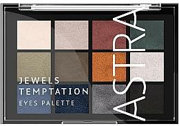 Voňavky, Parfémy, kozmetika Paleta očných tieňov - Astra Make-up The Temptation Palette