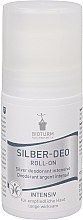 """Voňavky, Parfémy, kozmetika Guľôčkový antiperspirant-deodorant """"Intenzívny"""" - Bioturm Silver Deo Intensiv Roll-On No.37"""