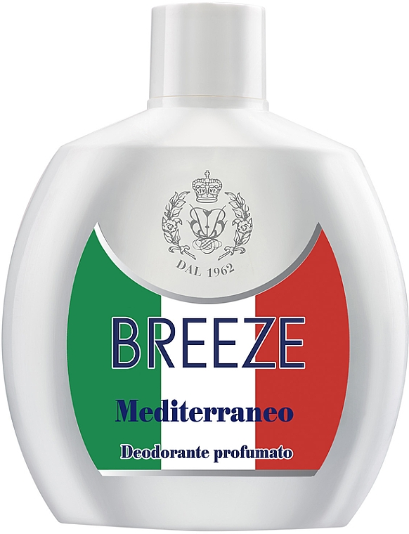 Breeze Squeeze Deodorant Mediterraneo - Dezodorant na telo