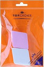 Voňavky, Parfémy, kozmetika Špongia na tonálnu bázu,ružová s bielym, 6432 - Top Choice