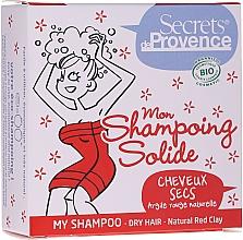 Voňavky, Parfémy, kozmetika Tuhý šampón s červenou hlinkou - Secrets De Provence My Shampoo Natural Red Clay