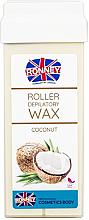 """Voňavky, Parfémy, kozmetika Vosk na depiláciu v kazete """"Coconut"""" - Ronney Wax Cartridge Coconut"""