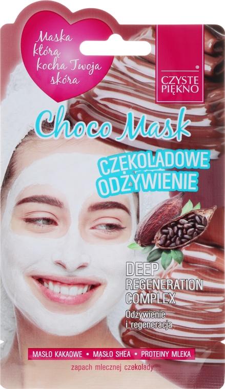 """Maska na tvár """"Čokoláda"""" - Czyste Piekno Choco Face Mask"""
