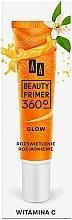Voňavky, Parfémy, kozmetika Báza pod make-up s vitamínom C - AA Beauty Primer 360 Glow Make-Up Base Vitamin C