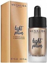 Voňavky, Parfémy, kozmetika Luminizer - Light Potion Liquid Highlighter Mesauda
