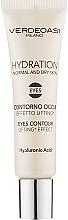 Voňavky, Parfémy, kozmetika Gél na pokožku okolo očí s liftingový účinkom - Verdeoasi Hydrating Eyes Contour Lifting Effect