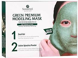 Voňavky, Parfémy, kozmetika Čistiaca maska na tvár na zúženie pórov - Shangpree Green Premium Modeling Mask