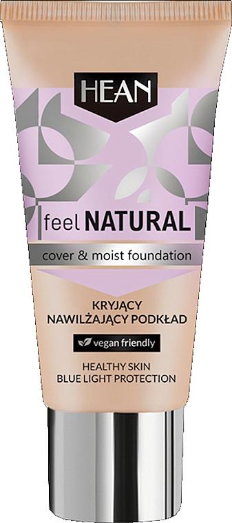 Hydratačná báza pod make-up - Hean Feel Natural Cover & Moist Foundation