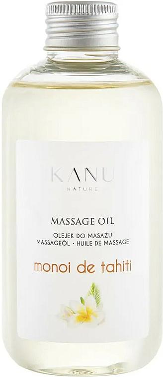 """Masážny olej """"Monoi de Tahiti"""" - Kanu Nature Monoi de Tahiti Massage Oil"""