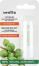 """Voňavky, Parfémy, kozmetika Balzam na pery """"Makadamiový olej"""" - Venita Lip Balm Macadamia Oil"""