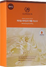 Maska na tvár s ceramidmi a kyselinou hyalurónovou - Guerisson Hydra Ampoule Mask — Obrázky N1