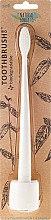Voňavky, Parfémy, kozmetika Detská zubná kefka, mäkka - The Natural Family Co Bio Brush & Stand Ivory Desert