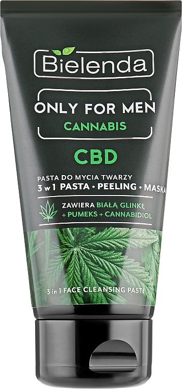 Čistiaca pasta na tvár - Bielenda Only For Men 3in1 Face Cleansing Paste