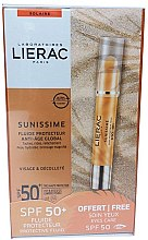 Voňavky, Parfémy, kozmetika Sada - Lierac Sunissime (sun/fluid/40ml + sun/eye/balm/3g)